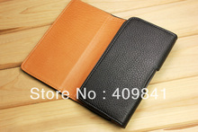 Free shipping 2013 new item high quality leather case waist pack for inew i6000 6.5 inch phone in stock