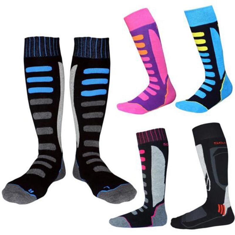 New High Quality Winter Women Thermal Ski Socks Cotton Sports Snowboard Skiing Camping Hiking Socks Thermosocks Leg Warmers