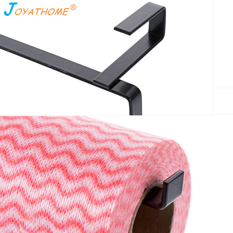 Image 5 - Joyathome Cabinet Thicken Hook Type Paper Holder Tissue Rack Creative Shelf Towel Rack Kitchen Storage Rack Shelves for Kitchen-in Storage Holders & Racks from Home & Garden