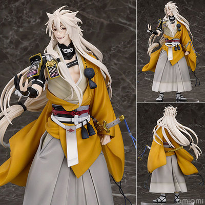 Anime Touken Ranbu Online kogitsunemaru Fox Ball 1/8 Scale PVC Figure Collectible Model Toy 23.5cm OTFG207 vogue good smile shokitsunemaru fox ball kimono with sword 9 from action figure nitro game touken ranbu online