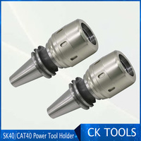 Milling chuck holder clamping tools powerful High Precision BT40 CAT40 SK40 C32 power CNC Tool Holder Straight Shank Collets