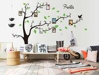 2017 Hot Koop Familie Foto Fotolijst Tree Wall Art Stickers Vinyl Home Decor Gratis Verzending W012