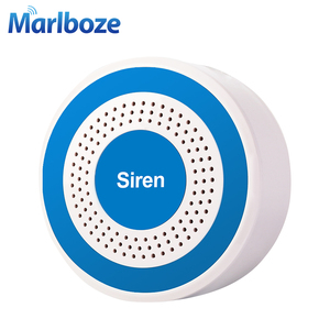 Image 4 - Marlboze 433mhz Wireless Sound and Light Siren 100dB Strobe Siren for PG103 PG168 Home Security WIFI GSM Alarm Panel System