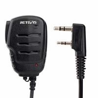 מכשיר הקשר ניו Retevis RS-111 2Pin PTT מרחוק רמקול מיקרופון עבור Retevis H777 RT5R RT21 עבור KENWOOD עבור Baofeng UV5R 888S מכשיר הקשר (5)