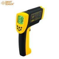 AR872D+ Non Contact Infrared Thermometer 50~1150C/ 58~2102F Digital Infrared Thermometer Gauge Industrial Handheld Pyrometer