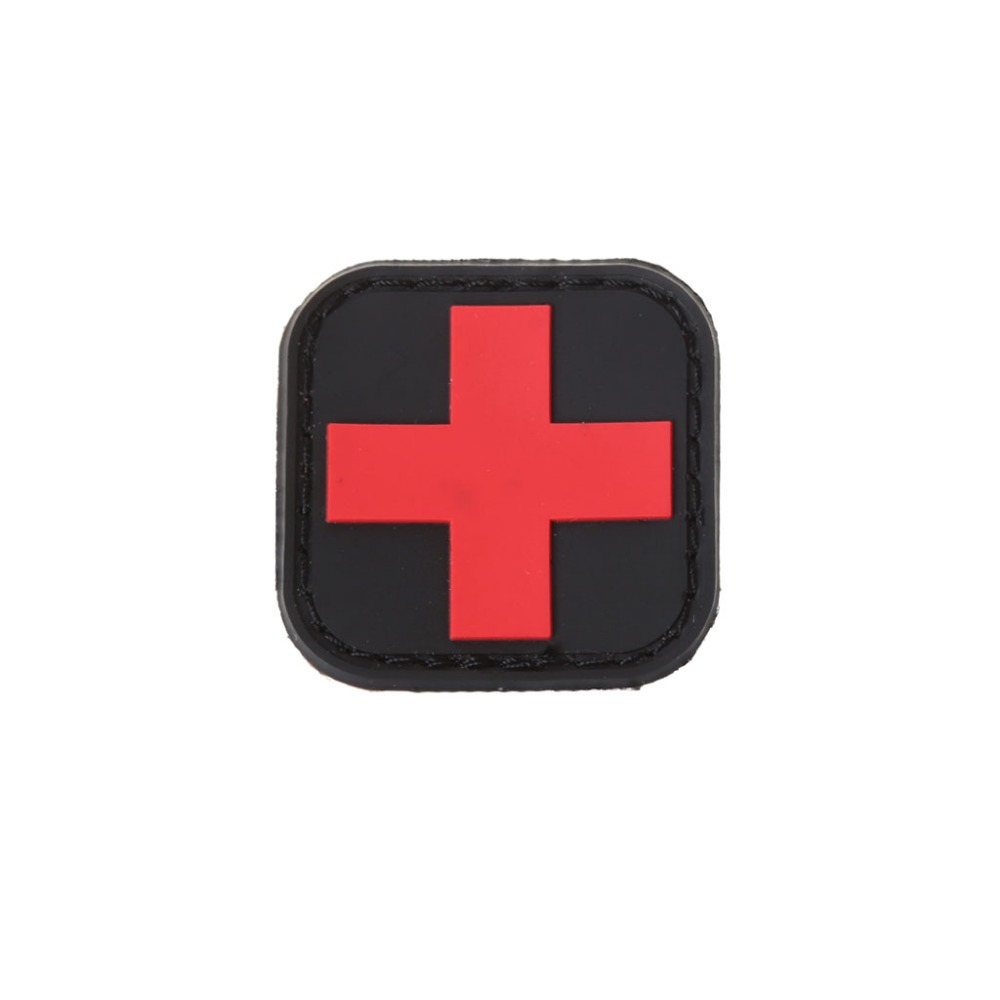 Tactical Armband First Aid Outdoor Hunting Medical Personnel Badge Brassard Red Cross Magic Sticker PVC Patch Morale AccessoriesTactical Armband First Aid Outdoor Hunting Medical Personnel Badge Brassard Red Cross Magic Sticker PVC Patch Morale Accessories