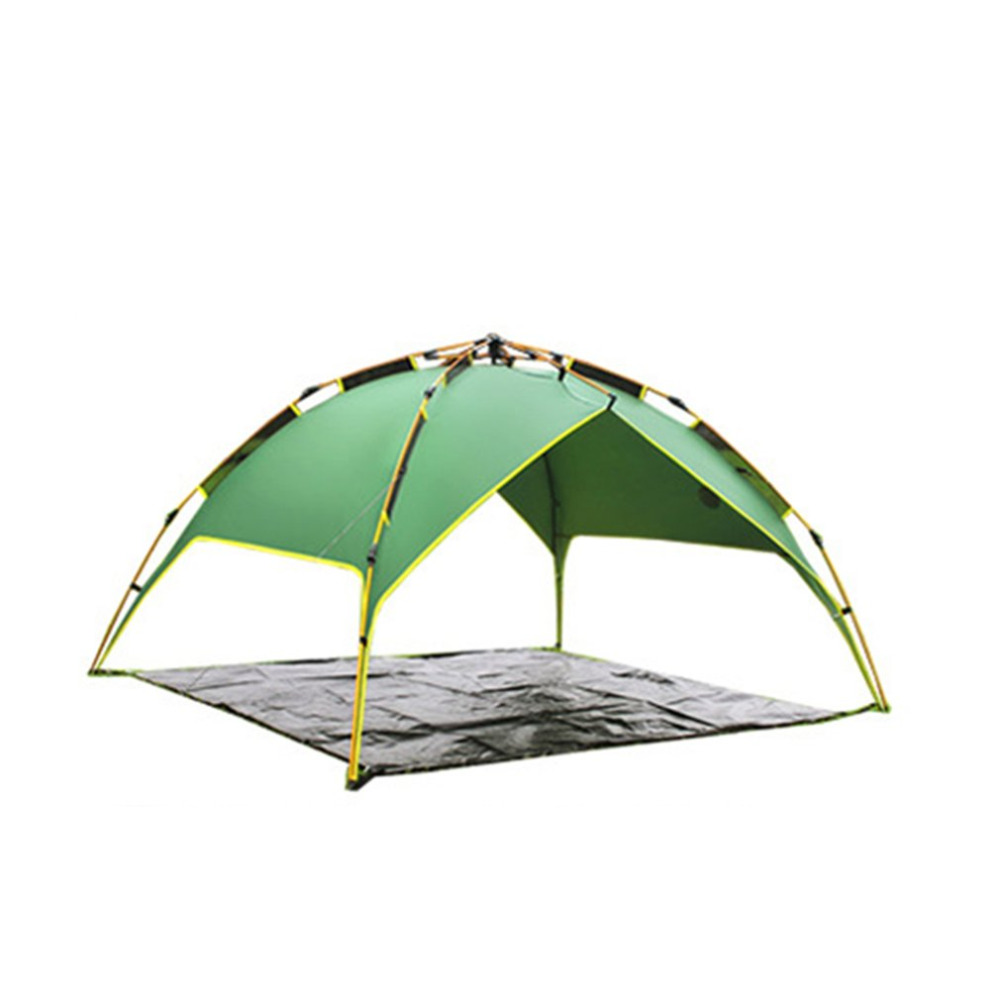 DESERTCAMEL CS070-3 Three-used Automatic Tent Portable Rainproof Tent Double Layers Outdoor Camping Hiking Tent For 2 Persons outdoor camping hiking automatic camping tent 4person double layer family tent sun shelter gazebo beach tent awning tourist tent
