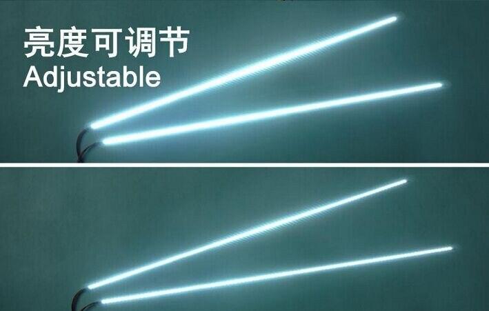 "Image 3 - High Quality 3PCS/LOT 540mm 24"" Adjustable brightness led backlight strip kit,Update inch LCD ccfl panel to LED backlightkit kitskit ledpanel led -"