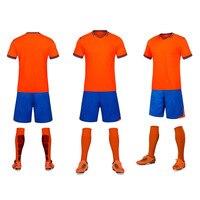 Nuovo Design Mens Calcio Maglie Manica Corta di Alta Qualità Allenamento di Calcio Traspirante Calcio Maglie Uniformi Abbigliamento Sportivo