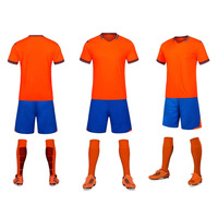 New Design Mens Football Jerseys High Quality Short Sleeve Soccer Training Breathable Football Jerseys Sportswear Uniforms
