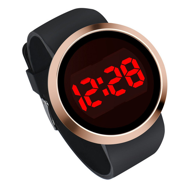 2019 Watch Man Luxury Brand Led Touch Screen Clock Women Sport Vintage Casual Lo