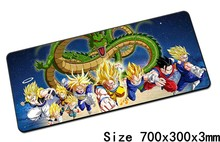 Dragon Ball mouse pad 700x300x3mm pad ratón notbook ordenador padmouse cheapest juego mousepad gamer para alfombrillas para el ratón del teclado