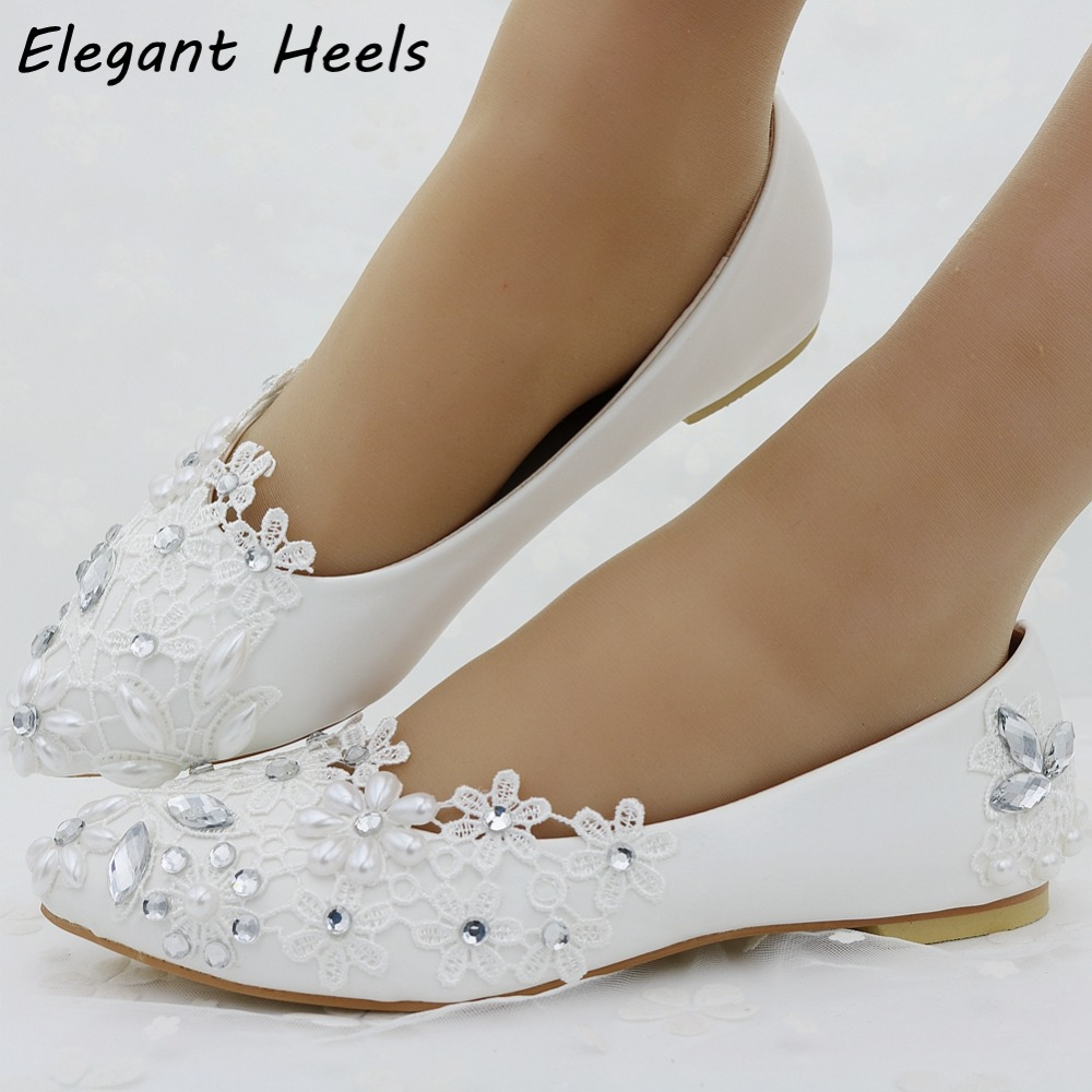 Wedding Table Lace Ballet Flats popular lace ballet flats buy cheap lots from spring women shoes white flat heel casual for ballets flats