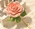 Christmas Childen Gift  Resin Coat Hanger Rose Hooks Children Room (Total length: 115mm)