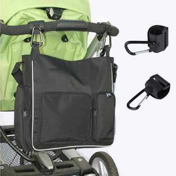 2Pcs/Set Stroller Hooks Wheelchair Stroller Pram Carriage Bag Hanger Hook Baby Strollers Shopping Bag Clip Stroller Accessories 4pcs universal mummy buggy clip pram pushchair stroller hook shopping bag carabiner clip