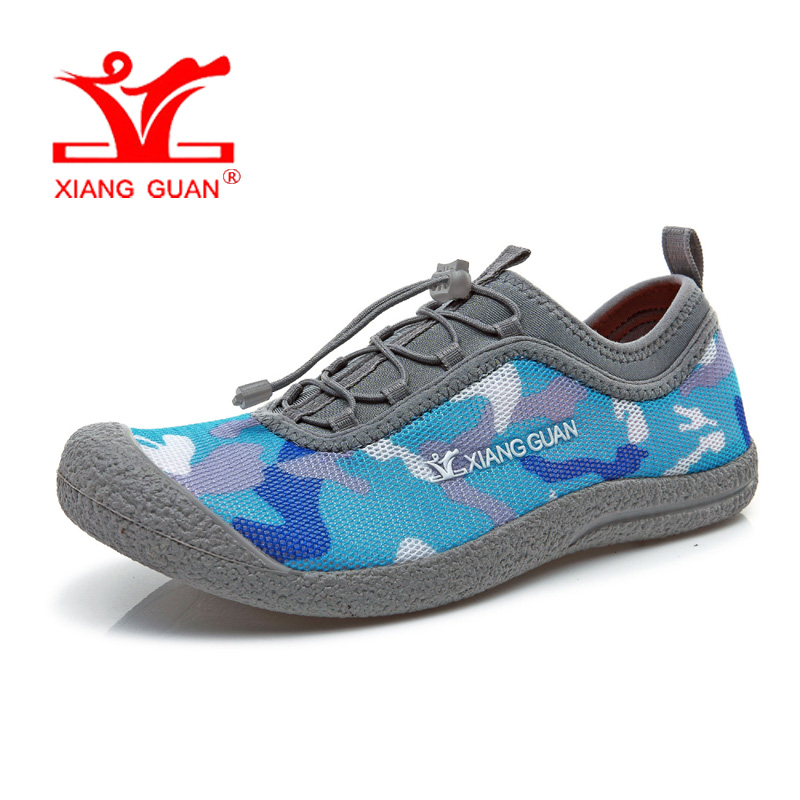 XIANG GUAN Man Running Shoes Men Upstream Trainers Camouflage Loafers Women Summer Water Sports Boating Shoe Outdoor Sneakers