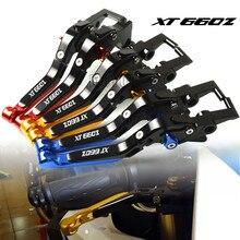 Motorcycle Brake Clutch Levers Adjustable Folding Extendable For Yamaha XT660/XT660X/XT660R/XT660Z 2004-2017 XT 660 XT660/X/R/Z for yamaha xt660 xt660r xt660x 2004 2014 short clutch brake levers cnc adjustable 10 colors 2005 2006 2007 2008 2009 10 11 12