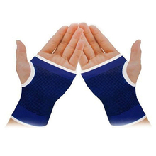 1 Pair Palm Wrist Hand Support Elastic Brace Sleeve Sports Bandage Gym Gloves