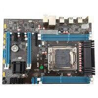 X79 B75 материнская плата LGA 2011 USB3.0 SATA3 PCI E 4*16 г ECC REG поддержки памяти Xeon E5