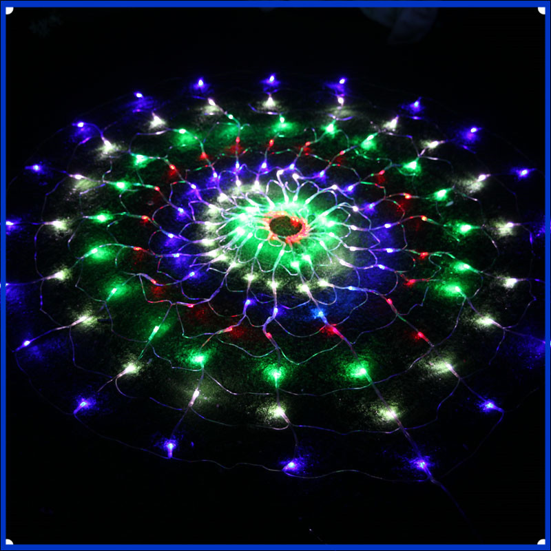 1set & 1.2m/1.5m LED Twinkle Lighting 120/150 LED xmas String Fairy Wedding Curtain background Outdoor Party Christmas Lights 22