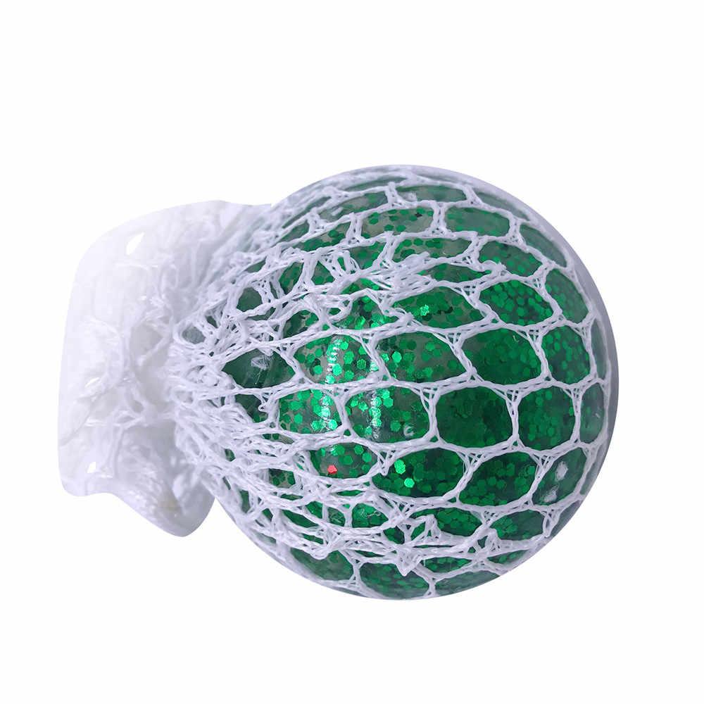 Красочный сетчатый шар, медленно поднимающиеся игрушки, светящийся игрушечный виноград, тревога, антистрессовые игрушки для детей