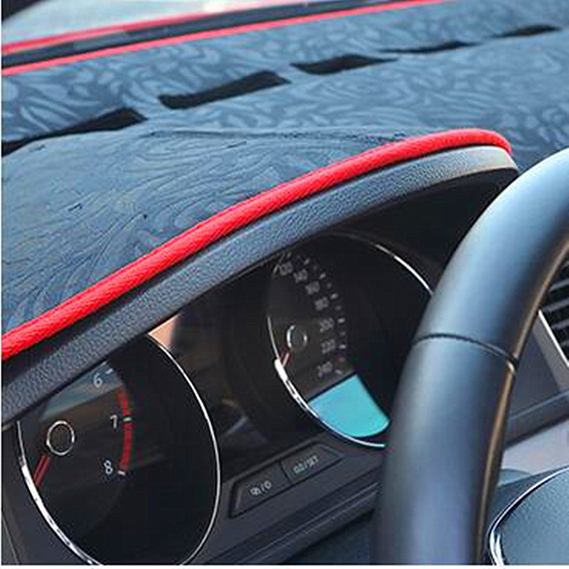 Right Hand Drive Car Heat Insulating Dashboard Cover For Toyota Yaris Rose Style Auto Pad Mat In Anti Dirty From