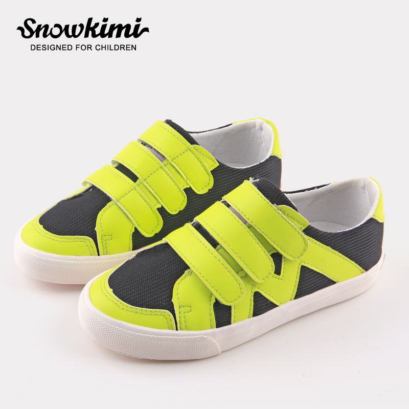 Snowkimi2018 spring boys sports shoes girls flat with casual shoes children breathable mesh snowkimi2018 spring girl butterfly leather shoes leather breathable children flat heels dress shoes