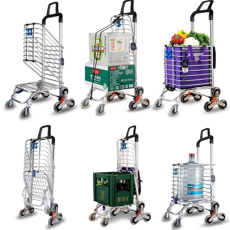 Aliexpress.com: Comprar 35l subir escaleras carrito de compras ...