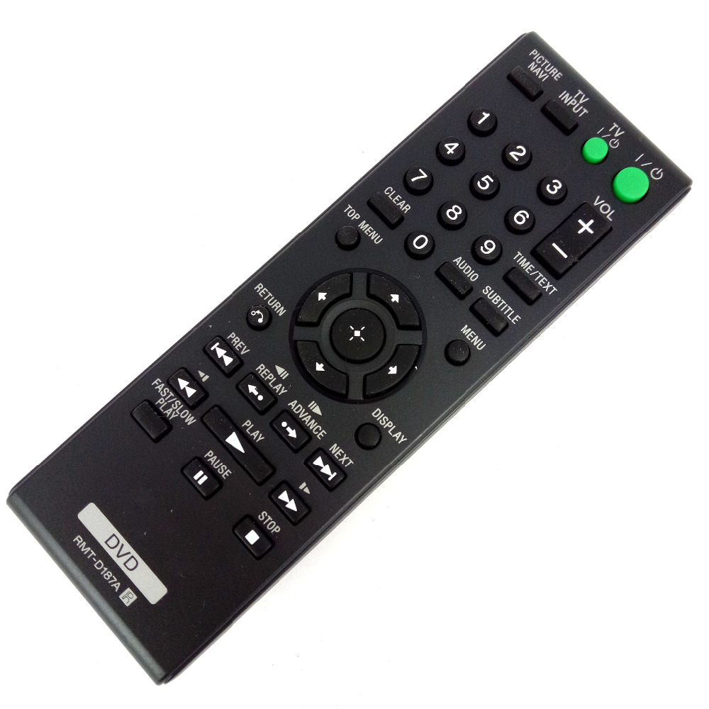 NEW Original Remote Control For Sony DVD RMT-D187A Fit RMT-D197A RMT-D198A RMT-D189P RMT-D197P