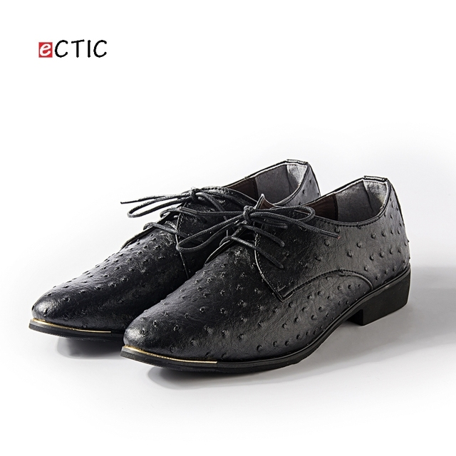 Luxury Brand Shoes Italian Style Men Dress Wedding Shoes Men's Business  Oxfords Formal Flats Shoes Leather