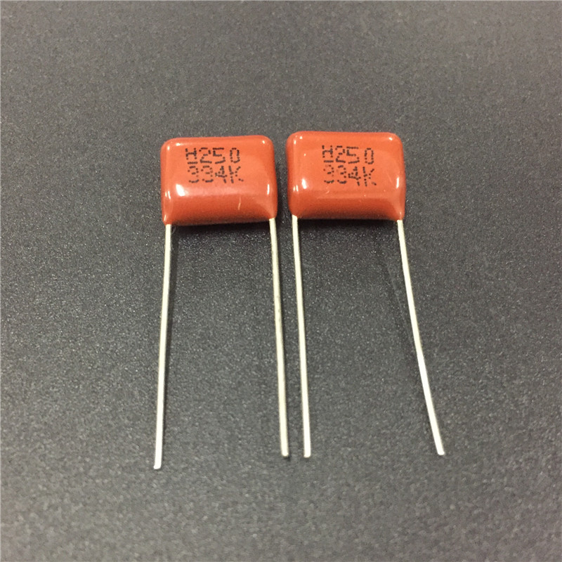 10pcs CBB Capacitor 334 250V 334K 0.33uF 330nF P10 CL21 Metallized Polypropylene Film Capacitor