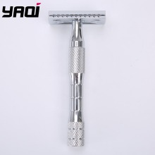 Yaqi Chrome Color Stainless Steel Handle 3 pcs Men Safety Razor цена