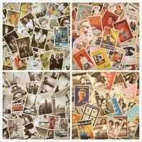 32 teile/satz Vintage Welt Krieg Zwei Poster Film Architektur Geschenk Postkarte Geburtstag Gruß Karte Selbst Made Foto Karten|Schreibset|Büro- und Schulmaterial -