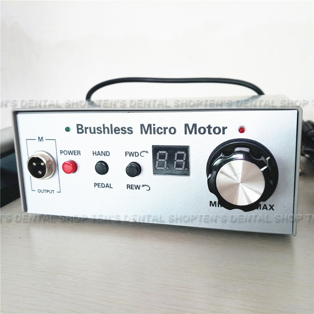 Controlador micromotor sin escobillas de 50000 rpm solo el controlador-in Blanqueamiento dental from Belleza y salud    1
