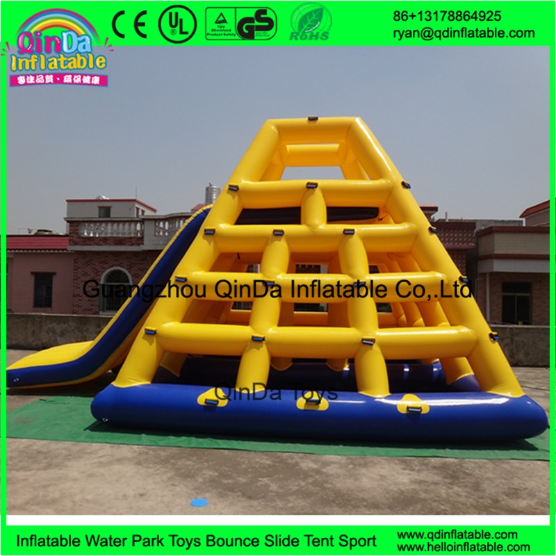 inflatable floating water slide09