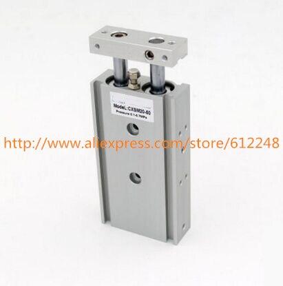 CXSM25*30 CXSM25*50 CXSM25*75 Double Axis Cylinder double rod cylinder SMC Type CXSM Series CXSM25-30 CXSM25-50 CXSM25-75