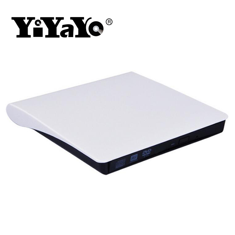 YiYaYo USB 3.0 Bluray Player DVD/BD-ROM CD/DVD RW Burner Writer Play 3d movie External DVD Drive Portable for Windows 10/MAC OS