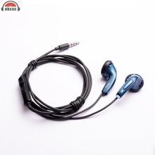 OKCSC Flat Earplug 3,5 mm kabelové sluchátka Dynamický ovladač s mikro podpory Call for Cell Phone a Andriod IOS