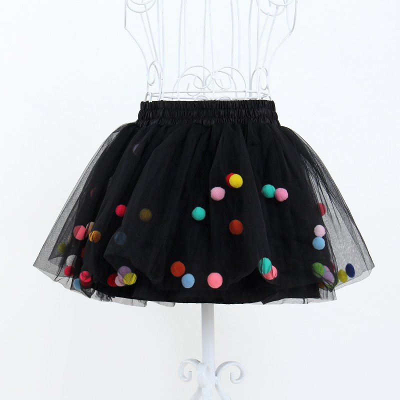Lovely Fluffy Ball Gown Mesh Dancing Tutu Skirt Girls Ballet Party Pettiskirt Children Clothes