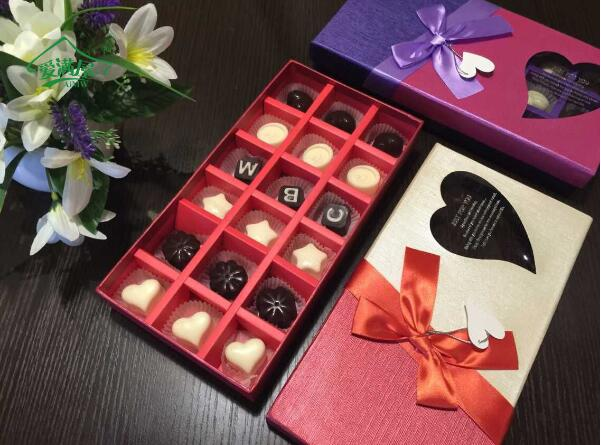Hot Sale 18 Cavities Chocolate Packing Boxes For Valentine S Day
