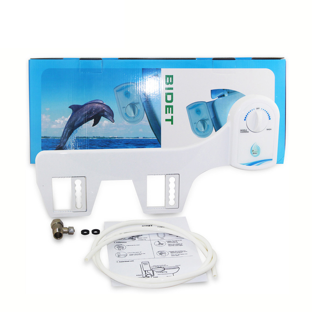 10pcs/lot Adjustable Hygiene Cold Water Wash Clean Unisex Easy Toilet Bidet toilet bidet seat spray shower NON-ELECTRIC TOILET