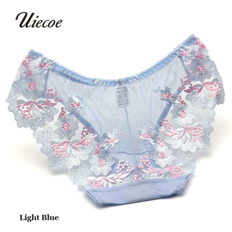 0b2e2b7d8ee Preferred UIECOE Chinese Style Women Sexy Transparent Lace Panties Ultra  FR16