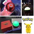 Pokeball Go Bluetooth Mini Speaker Magic Ball Night Colorful Light LED Dance Poke Mon Portable Wireless Stereo Handsfree MP3 TF