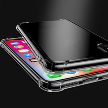 YWEWBJH Phone Cases For iPhone 6 6s 7 8 X XS max XR Case Soft Transparent Silicone Clear Back Cover 7plus