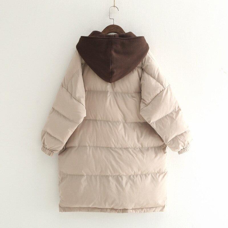 brown Lâche Parka Coton Femmes D'hiver Vers Veste Manteaux Capuchon Femelle 2019 À Le Bas Épais Manteau Beige Femme black Rembourré 0BHSqxwPWx