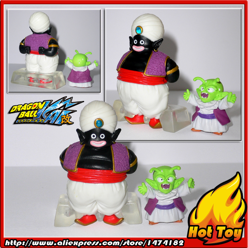 100% Original BANDAI Gashapon PVC Toy Figure HG Part 14 - Mr.PoPo & Dende from Japan Anime Dragon Ball Z (5cm & 2.5cm tall) лопата снеговая алюминиевая 3 х бортная с черенком 460х350х1400 мм