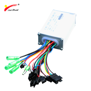 Jueshuai 48V bldc ebike controller 250W - 500W Sine Wave Brushless Motor controller for Electric Bike road bicycle accessories
