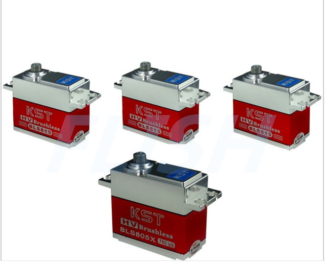 3Pieces KST BLS815 + 1 Piece KST BLS805X Brushless High Voltage Metal Gear Servo For 550-700 Helicopter