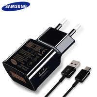 Samsung S8 S9 Plus Schnelle Ladegerät Original Für Samsung Galaxy S 9 8 hinweis 8 Adaptieve Brief 1,2 M Typ C Kabel 9V1. 67A & 5V2A