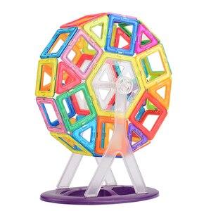 Image 5 - VINEDI Big Size Magnetic Designer Construction Set Model & Building Toy Magnets Magnetic Blocks Educational Toys For Children